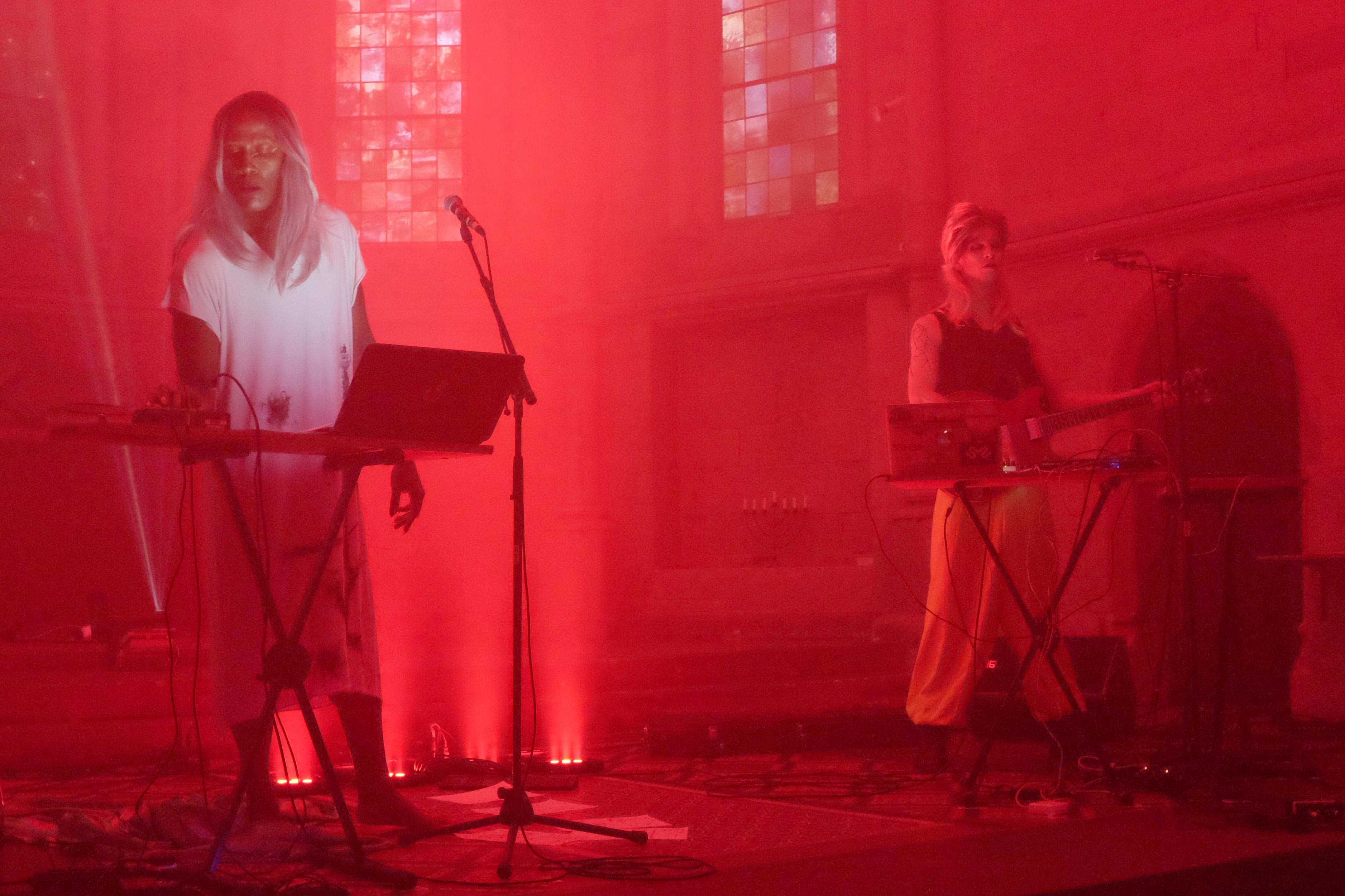 Trance Performance im sakralen Raum