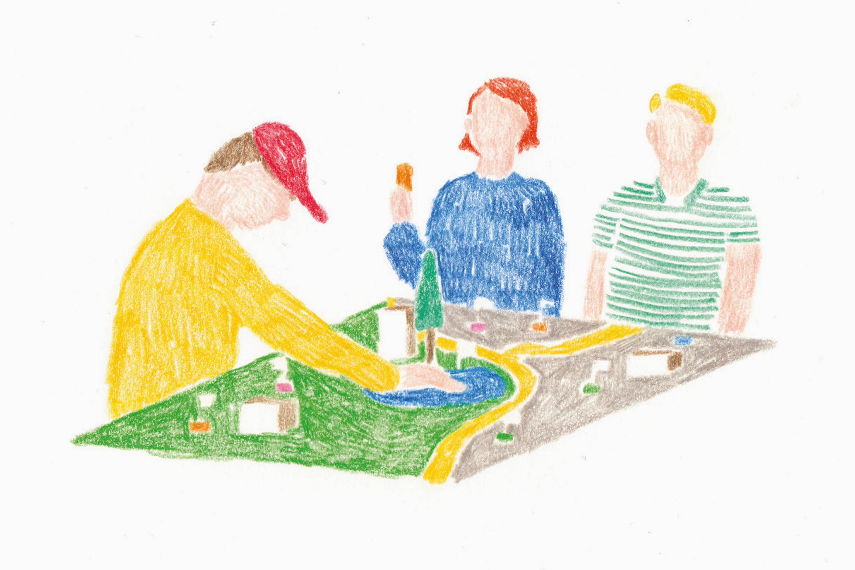 1. Die Stadtbühne ist ein Werkzeug der kollaborativen Wissensproduktion im Kontext dialogischer Stadtentwicklungsprozesse.